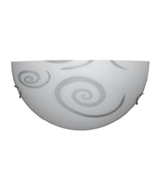 Arandela Meia Lua Vidro Circulo E-27  Bivolt