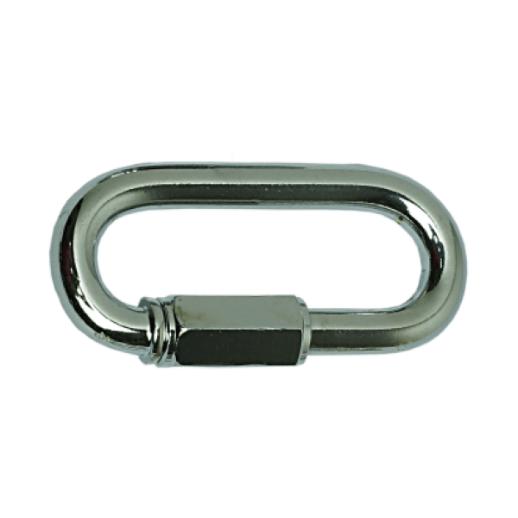 Fecho de Corrente Cromada 8 mm