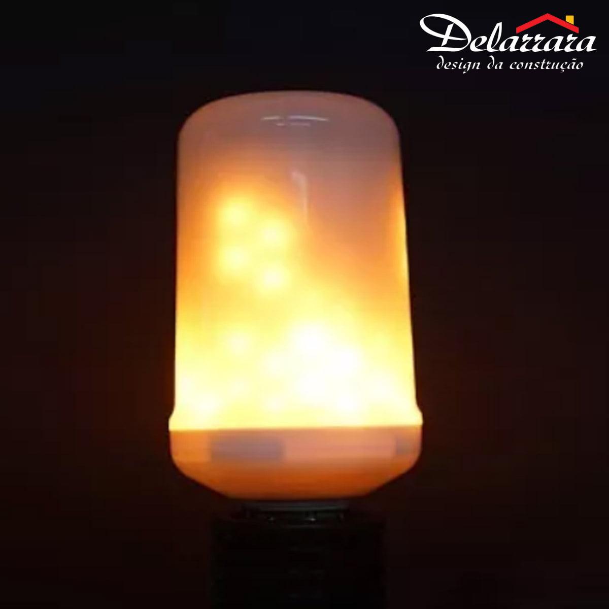 Kit 5 lâmpadas Efeito Chama 2901