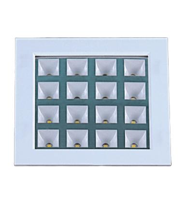 Embutido Quadrado  Branco Super Led 16x1W