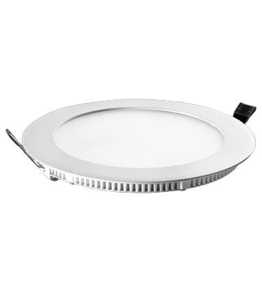 Painel de Embutir com LED Redondo 24W 30 cm