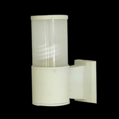 Arandela Branca H 21 cm