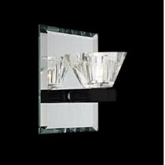 Arandela Cristal 1x3W Led 6000K  Bivolt