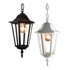 Lanterna Colonial Com Corrente Bivolt