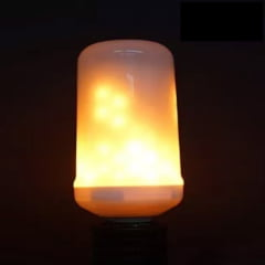 Lâmpada Led Decorativa Efeito Chama Fogo Bivolt