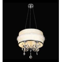 Lustre Cupula Design Linha Itália 4 Lâmpadas E-14 Bivolt