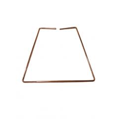 Pedente  Aramado Detalhe Madeira Lâmpada Led Filamento Bivolt