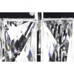 Pendente Cristal K9 Com Led  8w Bivolt