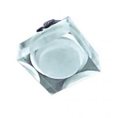 Embutido de Sobrepor Cristal  Quadrado 3X 1W Led