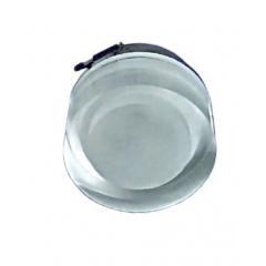 Embutido Sobrepor Em Cristal Redondo  3X 1W Led