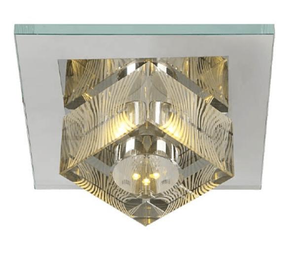 Spot 3x 1w Led Cristal  Gelinho  Bivolt