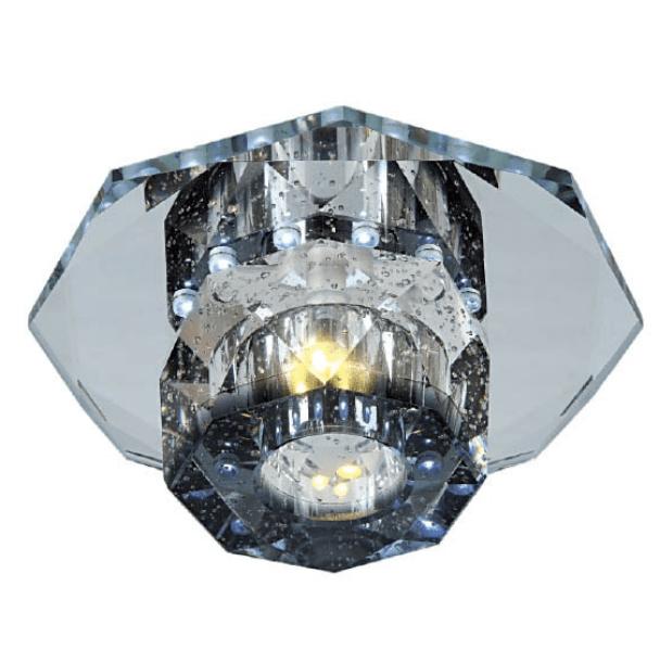 Spot  Cristal 3x 1w Led